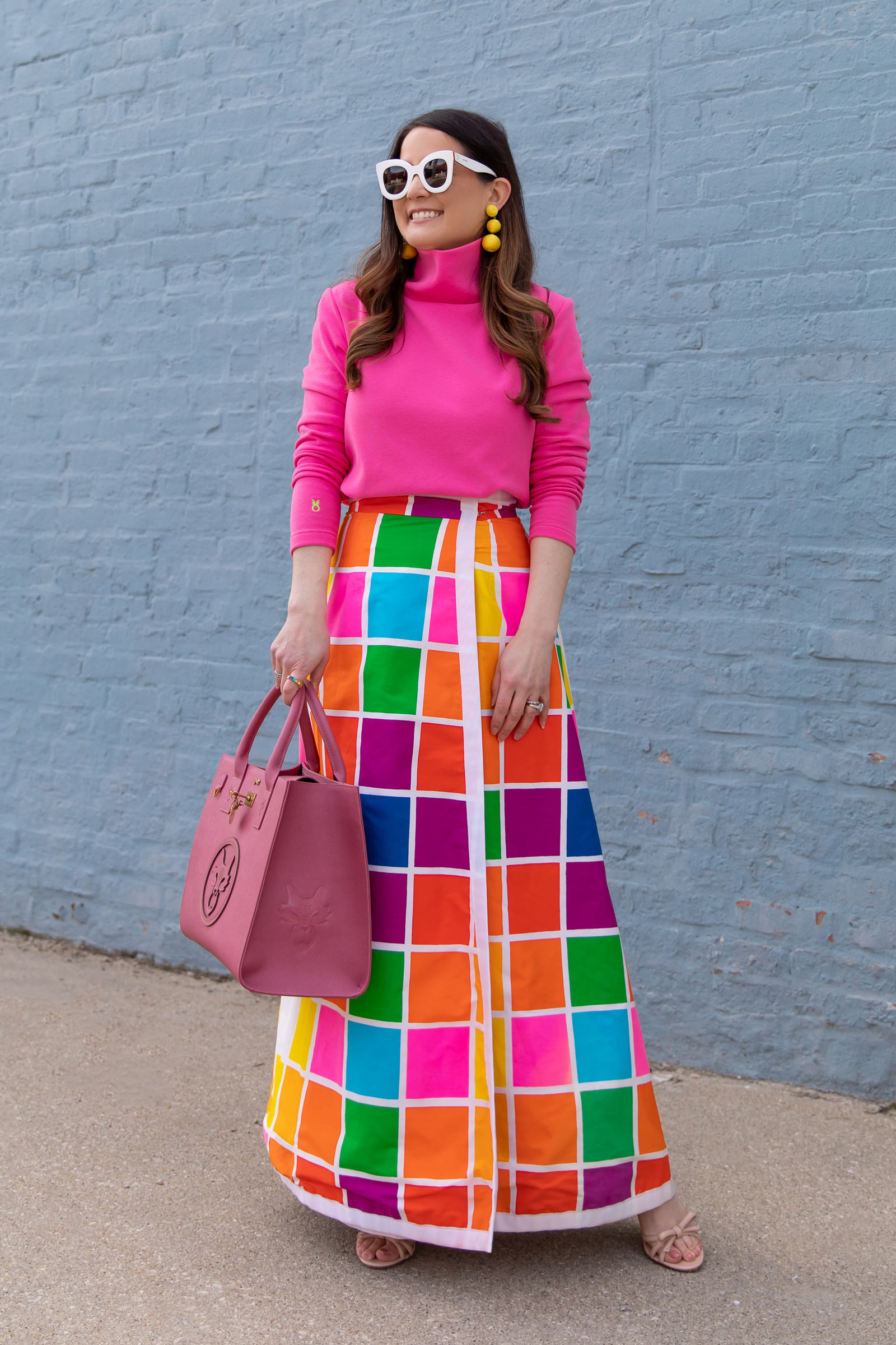 Jennifer Lake Multicolor Maxi Skirt