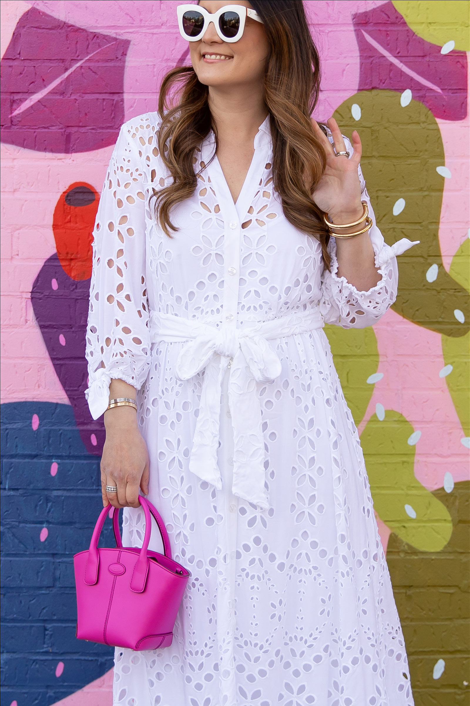 Lilly Pulitzer Amrita Eyelet Embroidered Dress