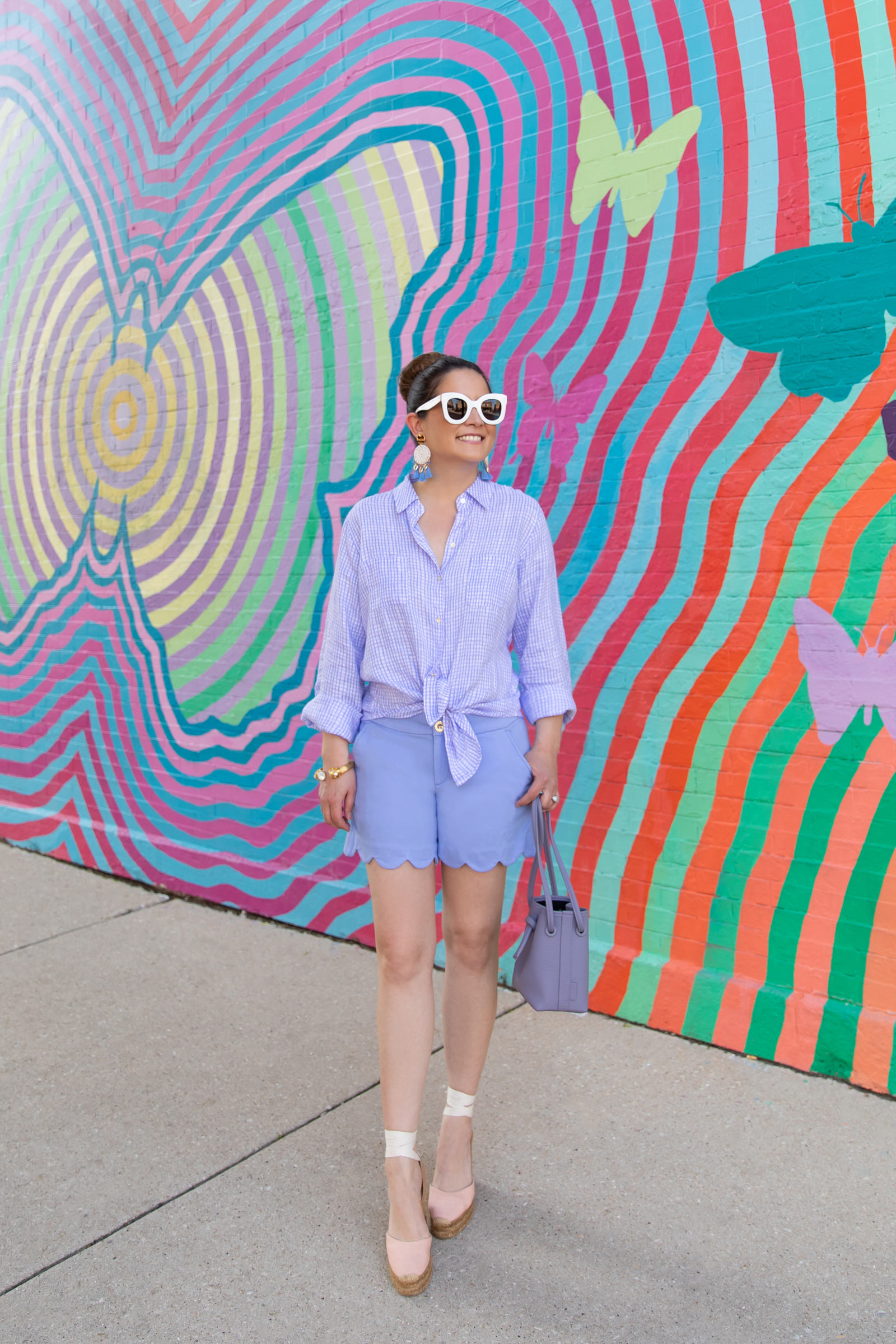Lilly Pulitzer Gingham Shirt
