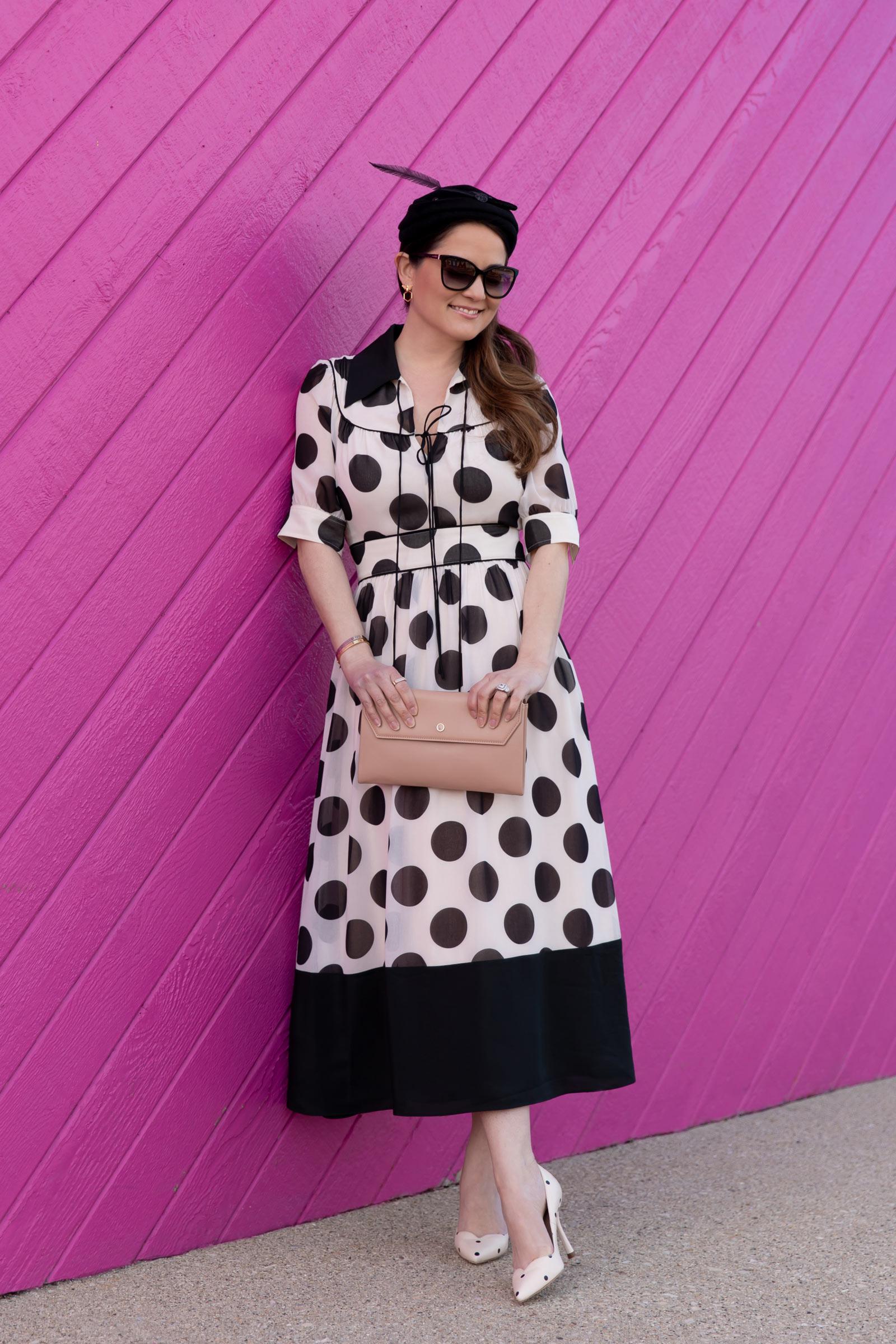 LK Bennett Polka Dot Dress