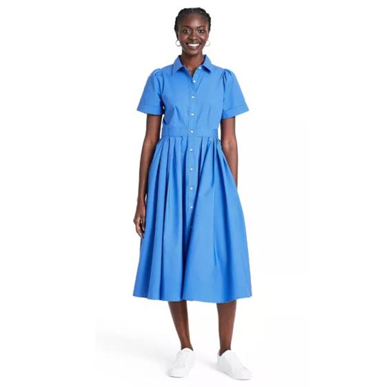 Target Alexis Blue Shirtdress