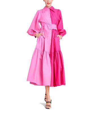 Target Christopher John Rogers Two Tone Dress