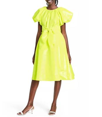 Target Christopher John Rogers Yellow Dress