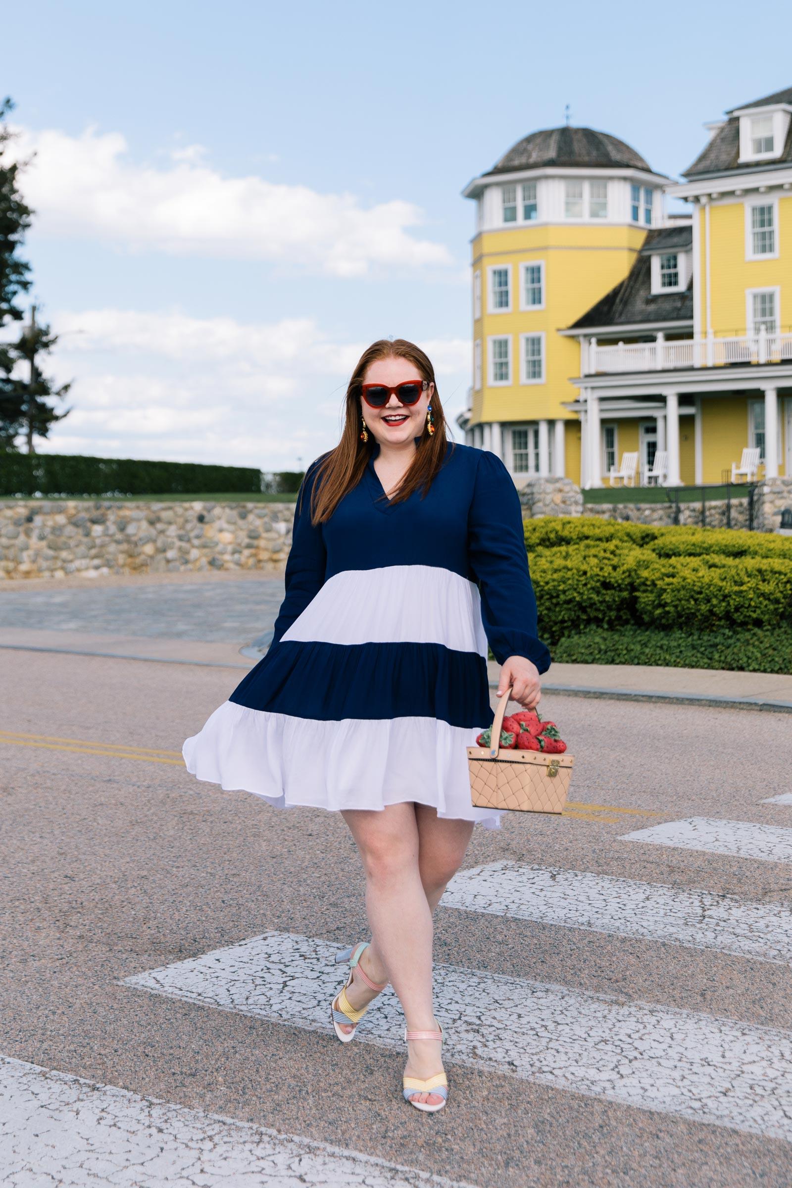 Allie Provost Colorblock Dress