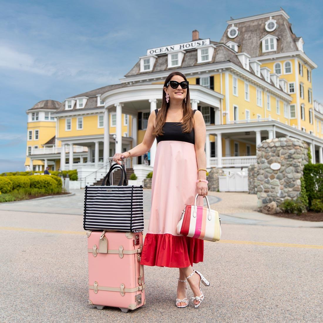 Jennifer Lake KSNY Pink Dress