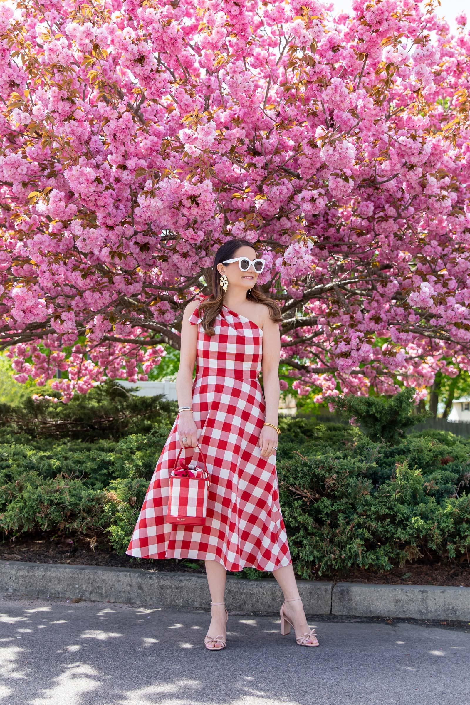 Kate Spade Red Gingham Dress