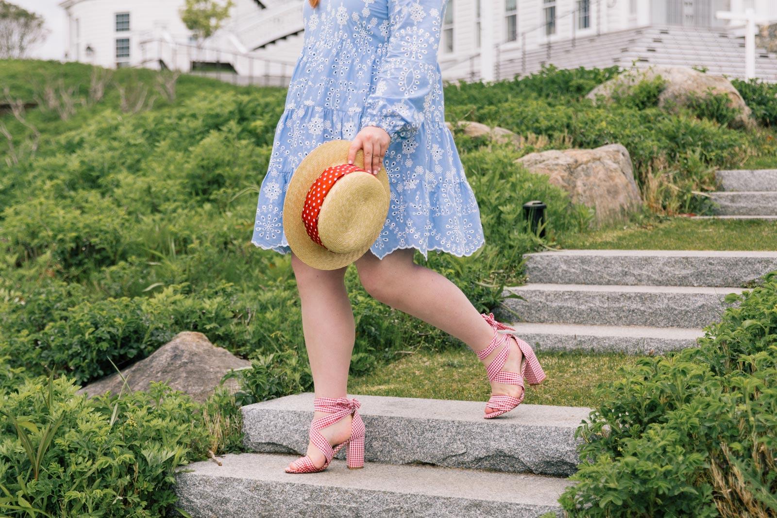 Miu Miu Red Polka Dot Hat