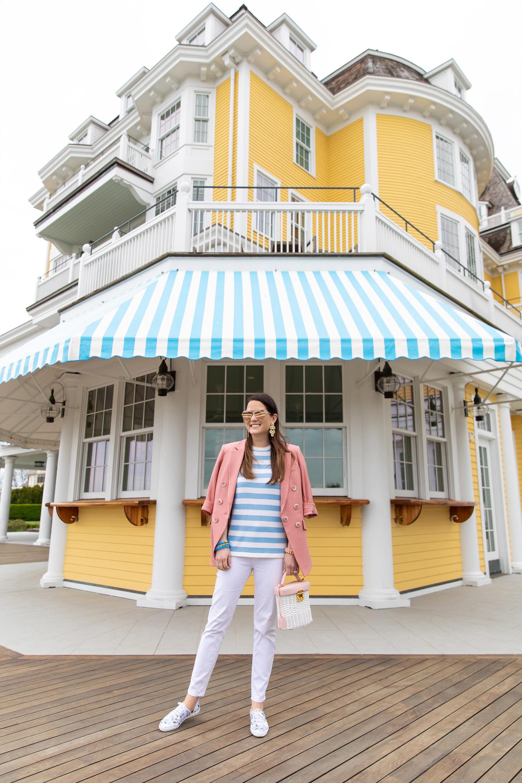 Ocean house Stripe Awnings