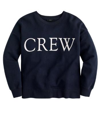 J Crew Retro Sweatshirt