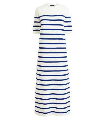 J. Crew Stripe Sweater Dress