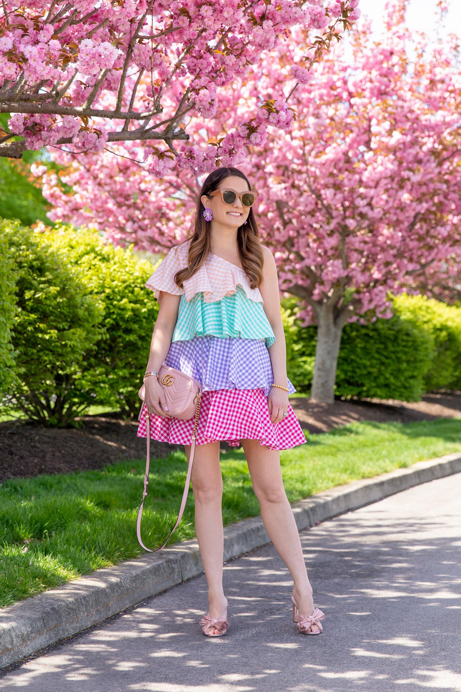 Sundress Lena Gingham Dress