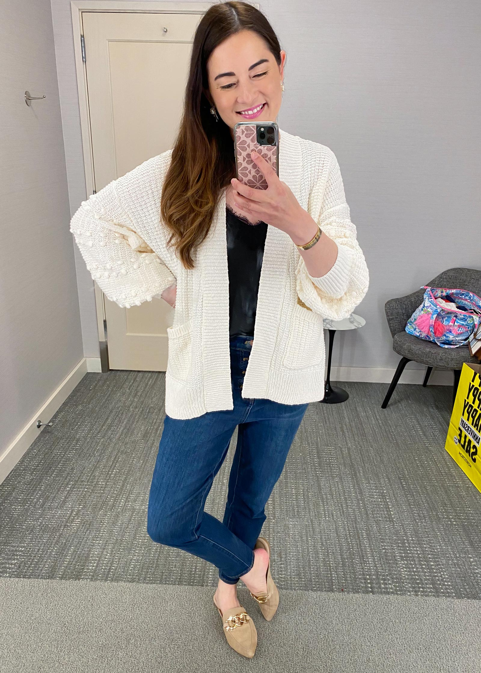 Jennifer Lake NSale Dressing Room Try Ons