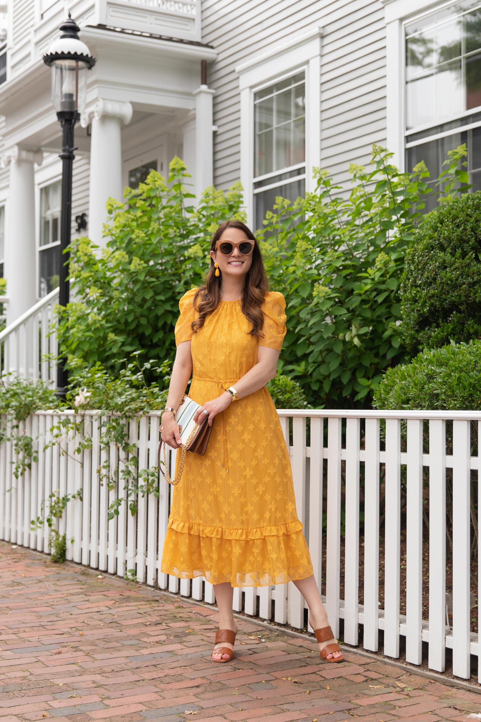 Julia Jordan Yellow Dress
