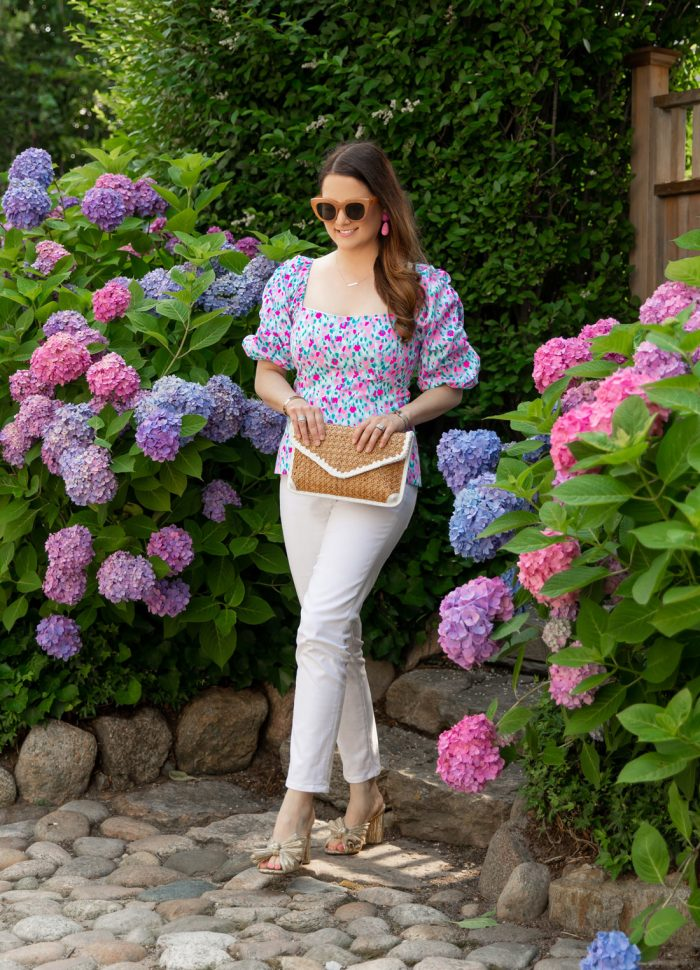 Lilly Pulitzer Puff Sleeve Top
