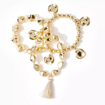 Lilly Pulitzer Gold Bracelets