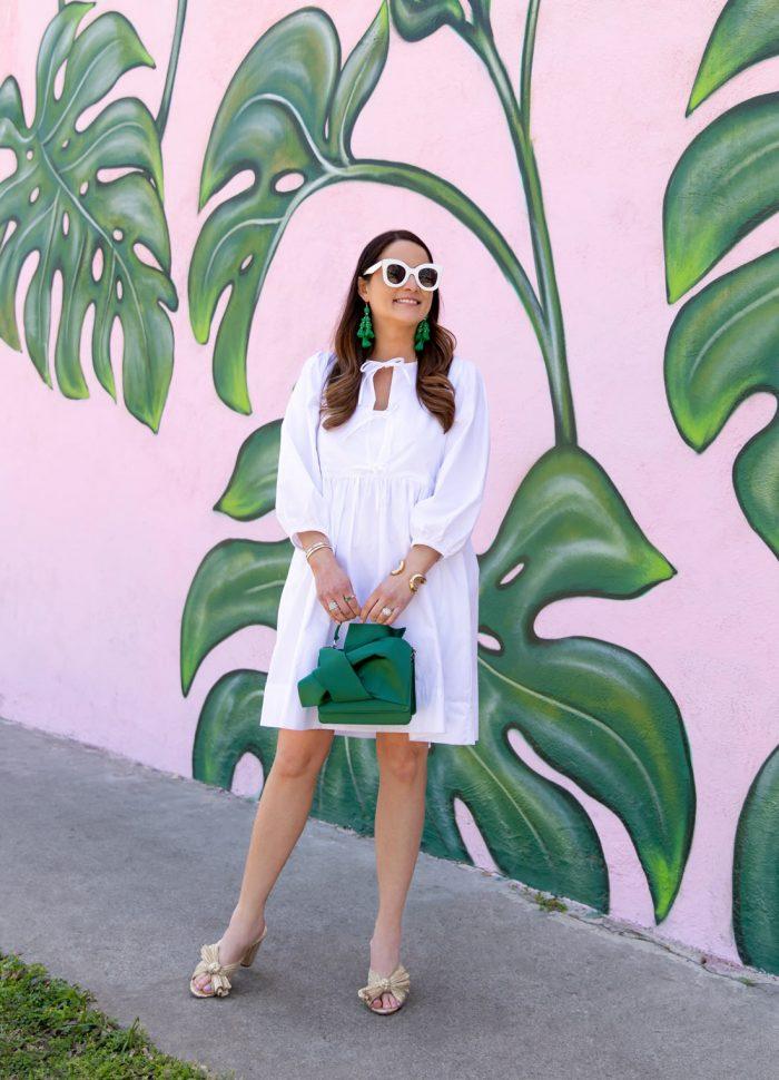 Jennifer Lake White Tiered Dress
