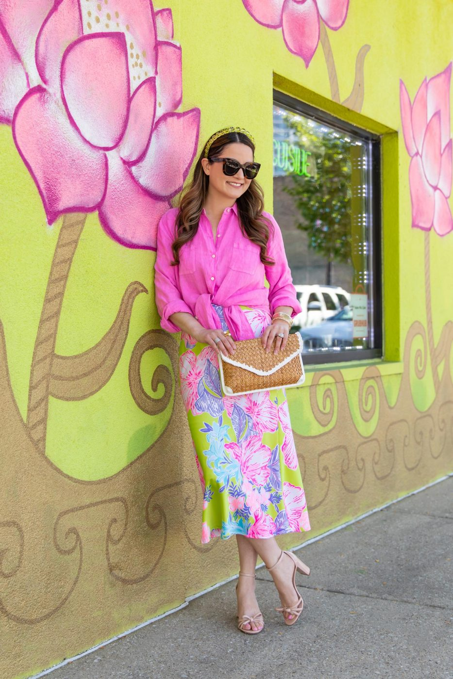lilly pulitzer matcha green outfit