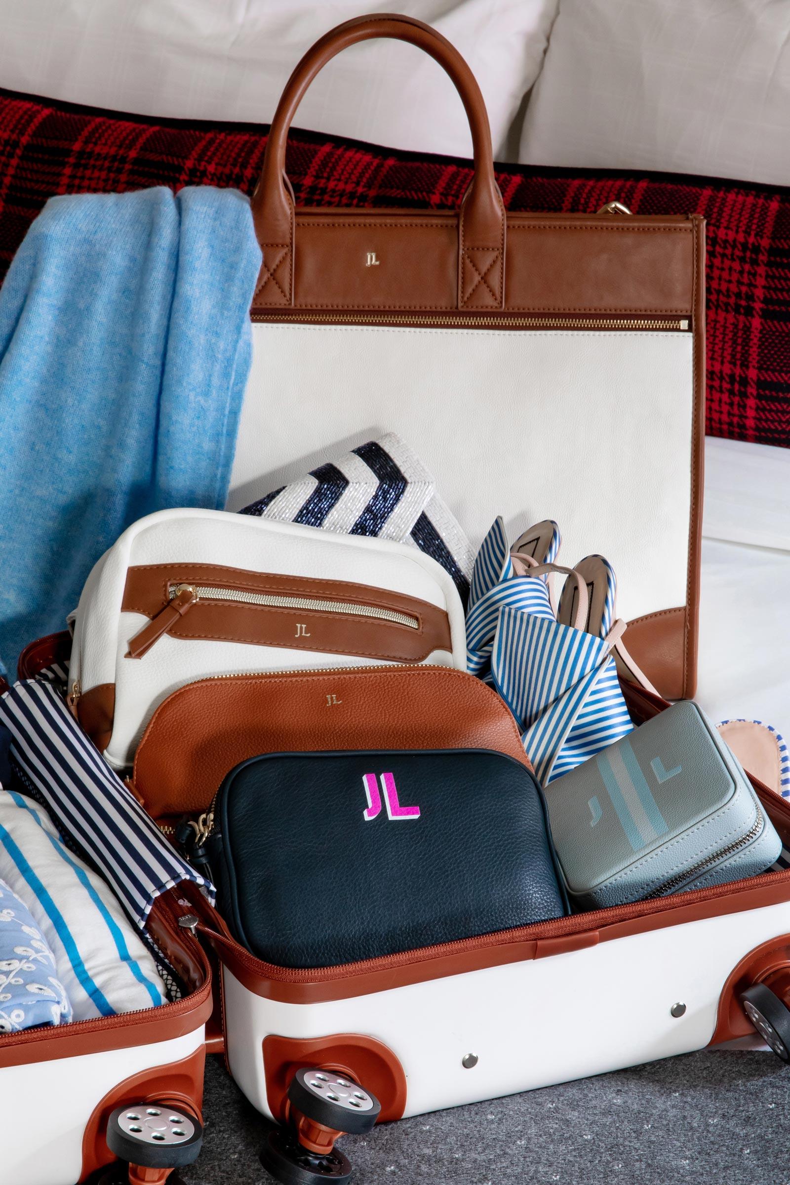 Mark and Graham Monogrammed Luggage