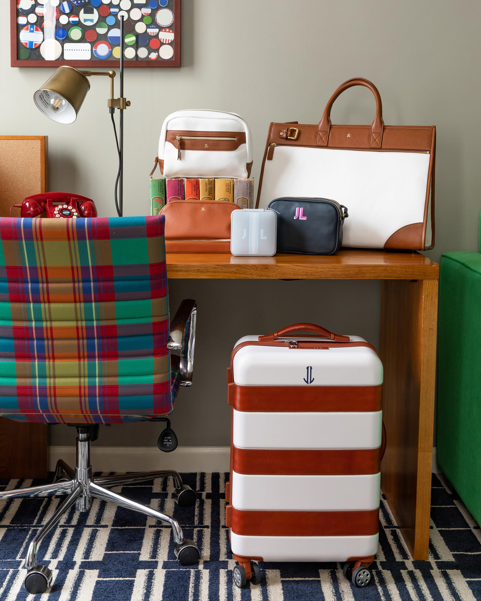 Mark and Graham Travel Bags