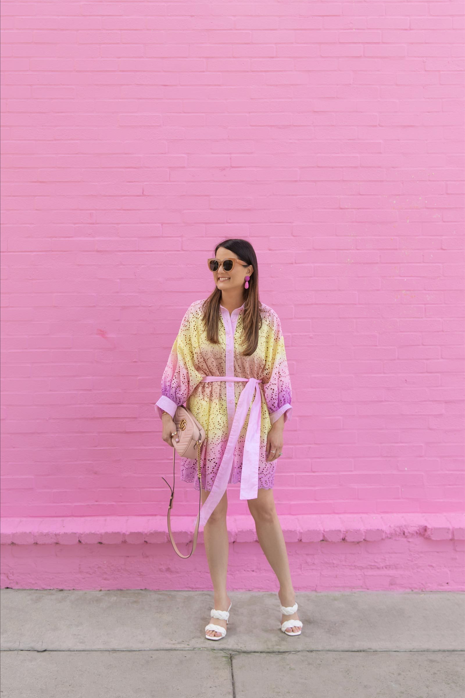pink wall los angeles location