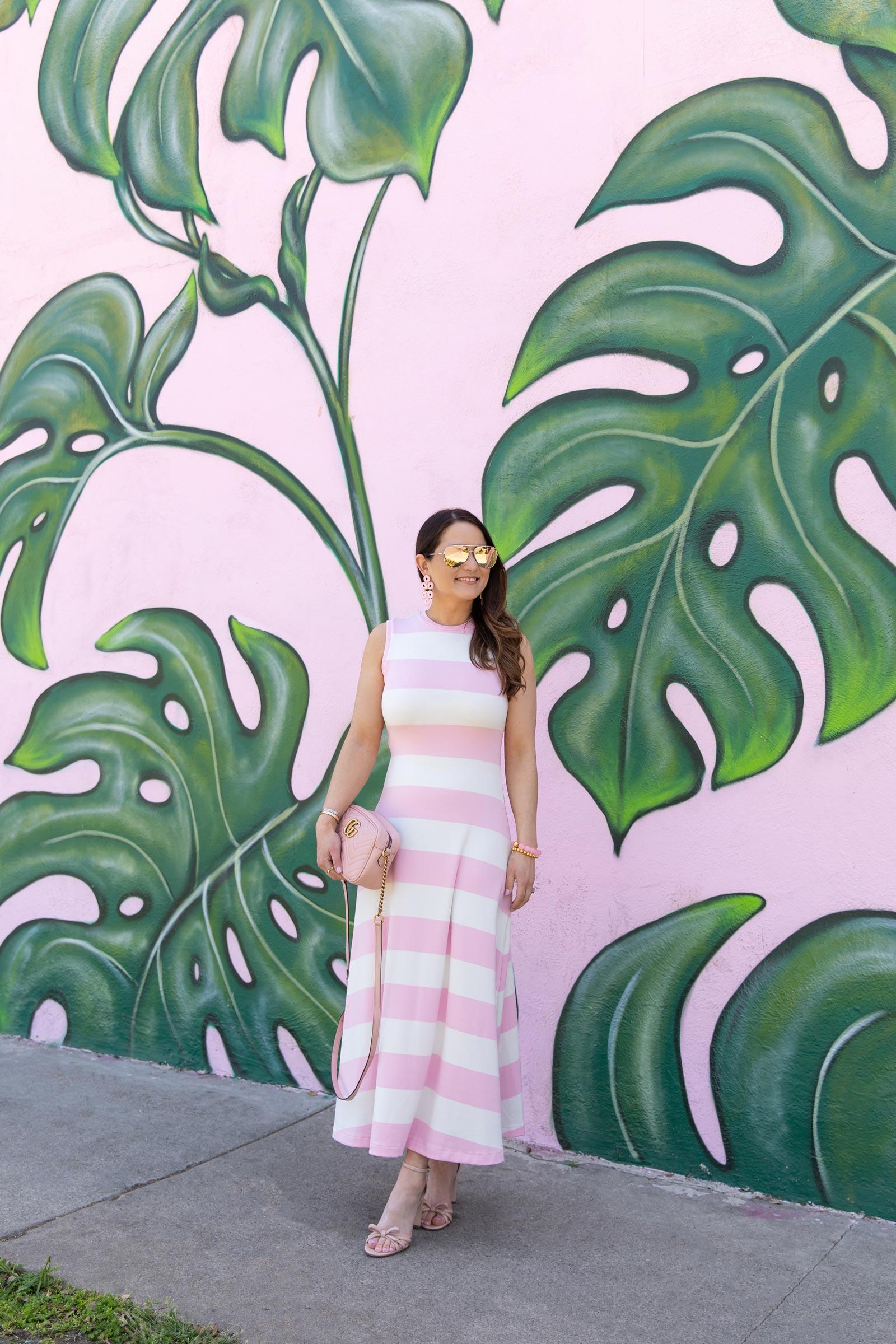 polo ralph lauren pink stripe