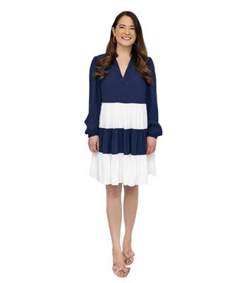 Sail to Sable Colorblock Dress