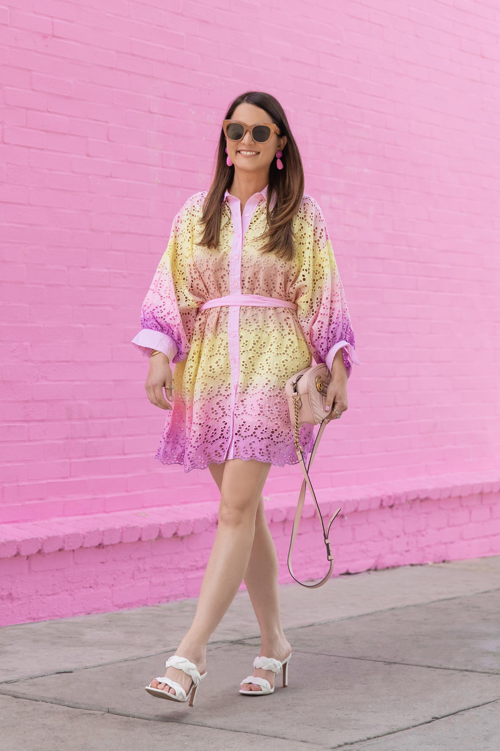 sundress ombre dress