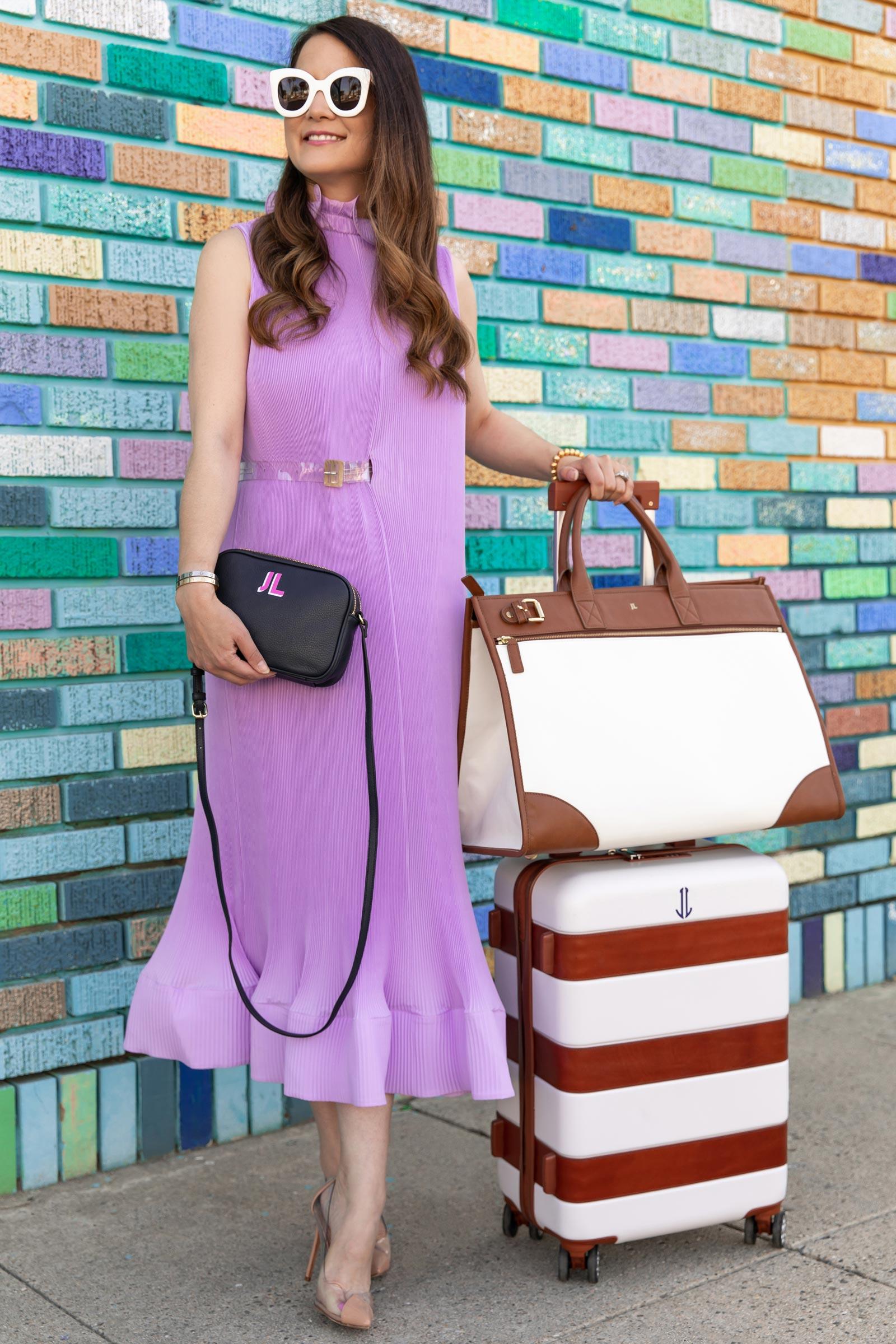 Tibi Plisse Pleated Dress
