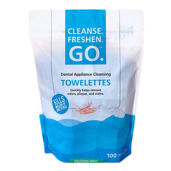 Dental Cleansing Towelettes