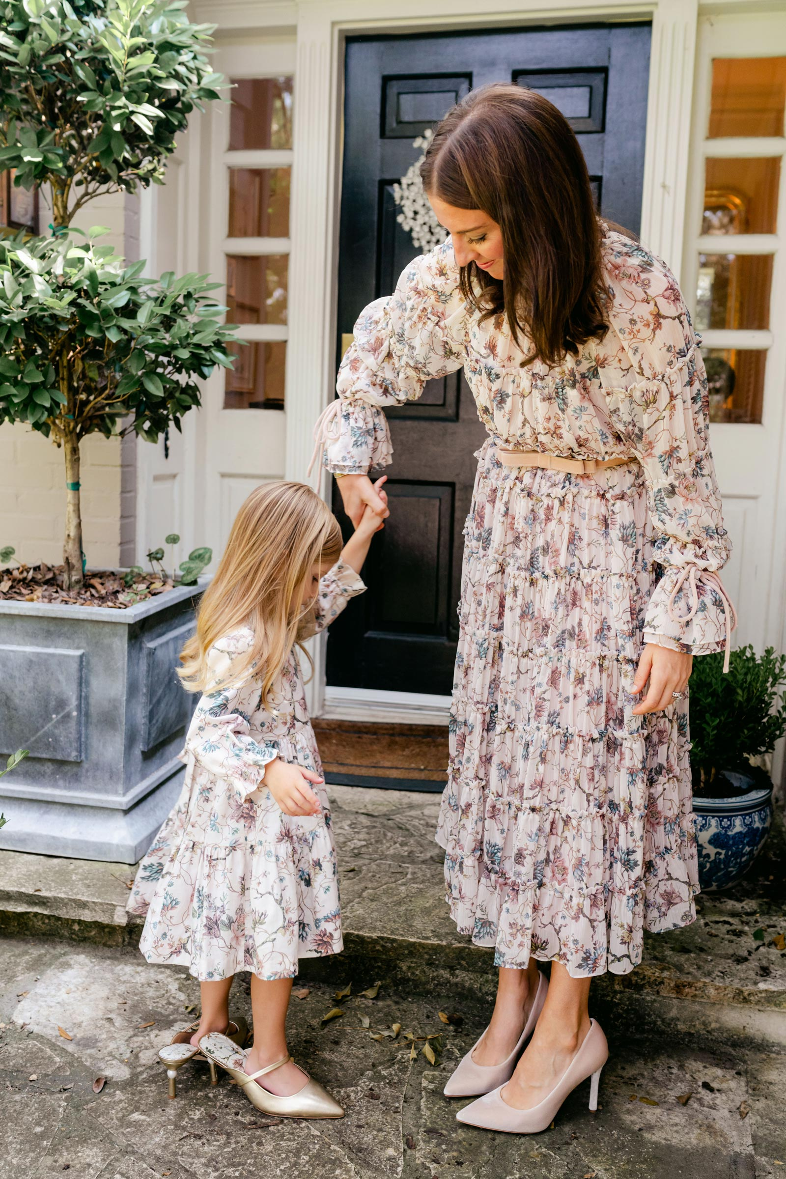 nicola bathie dillards floral dress