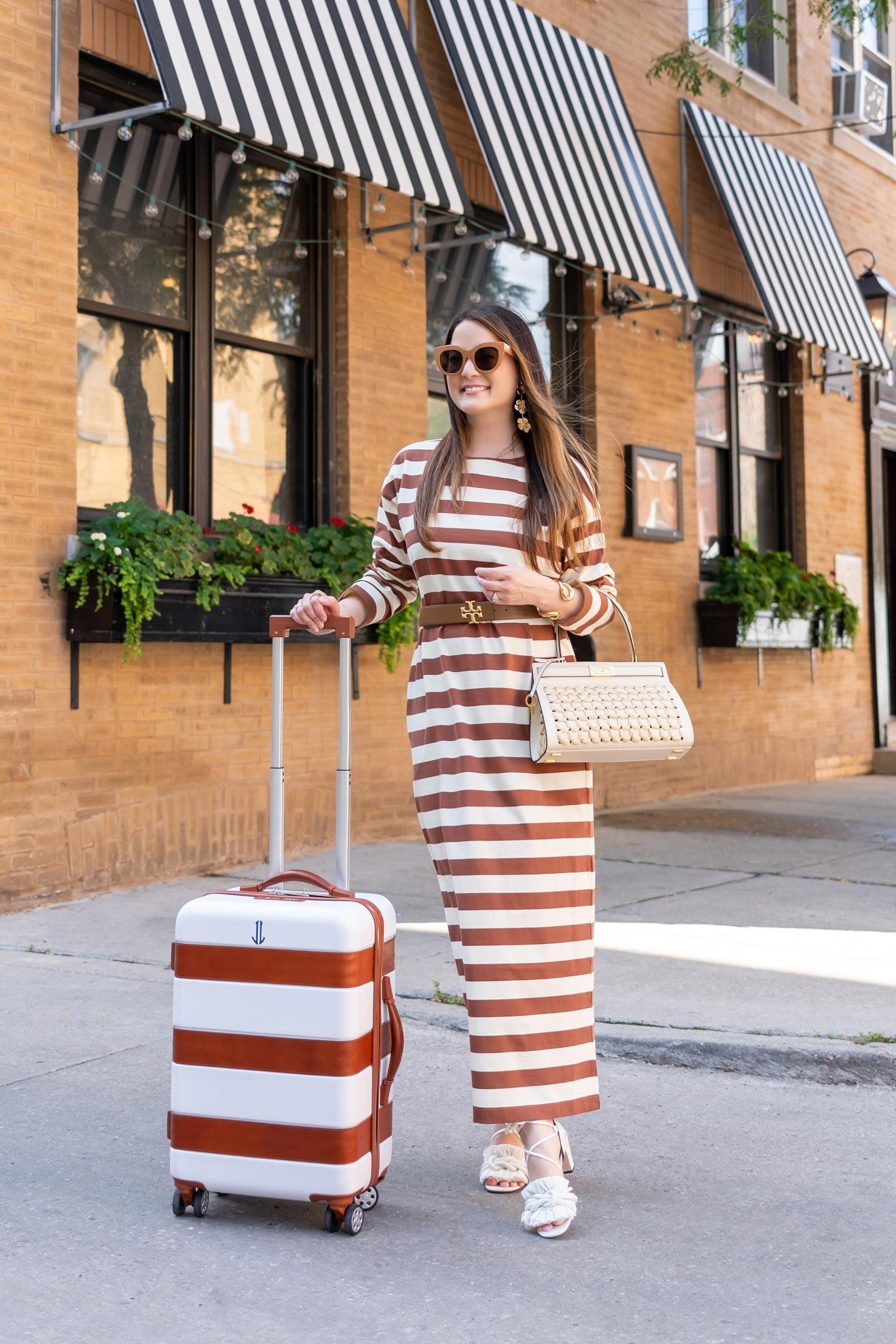 tory burch stripe dress