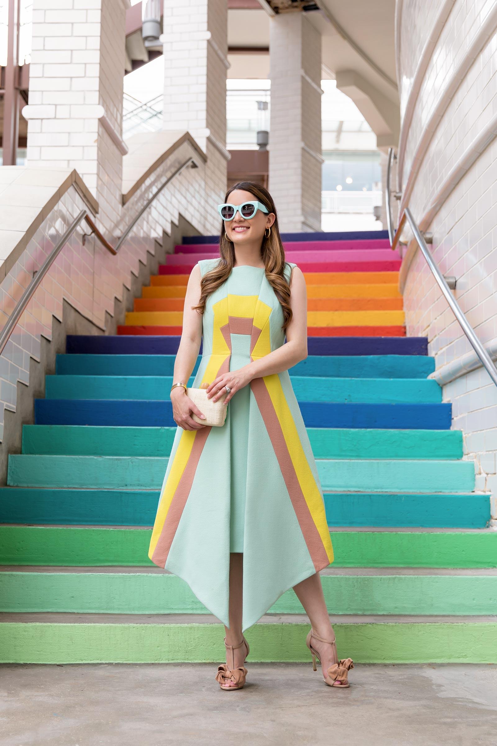 Chicago Rainbow Stairs