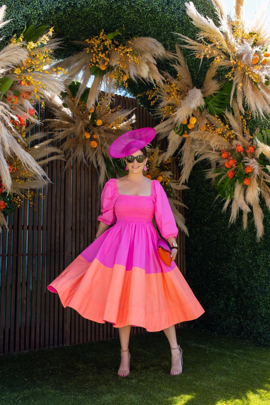 Jennifer Lake Tanya Taylor Dress