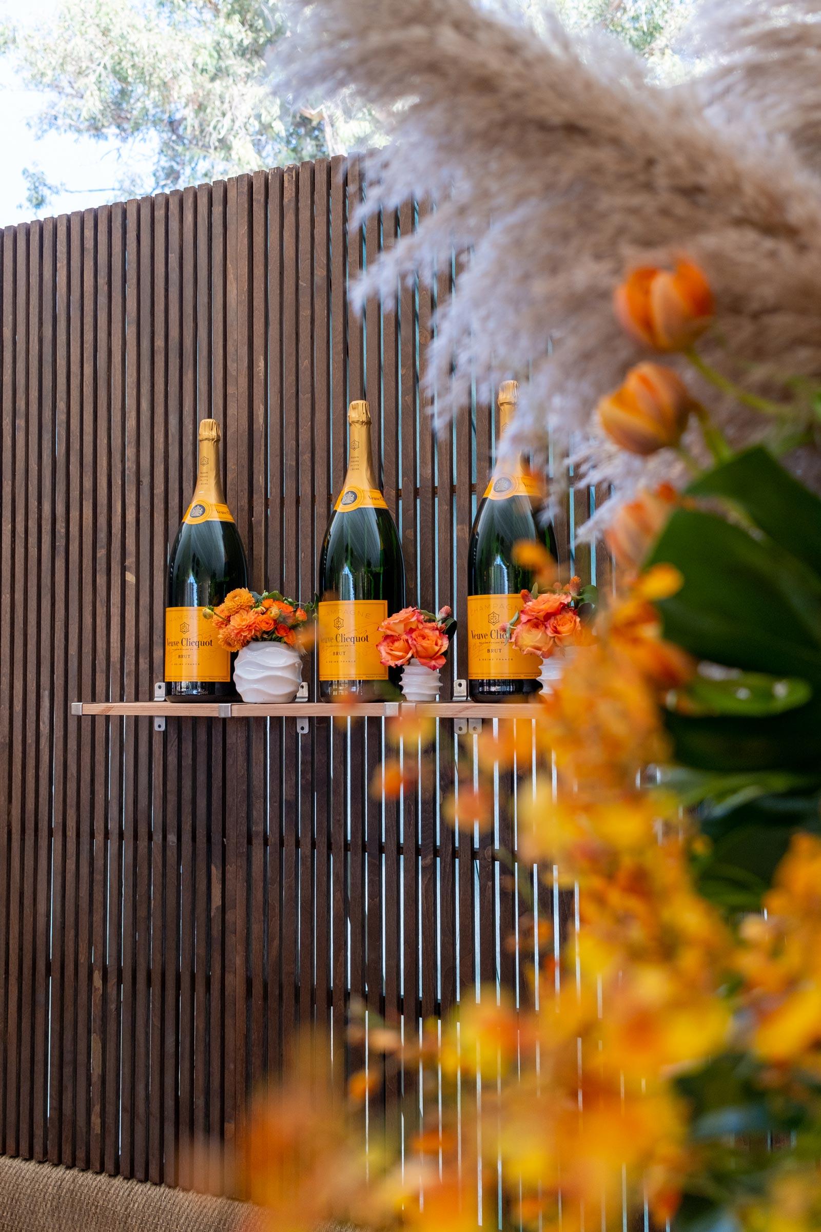 Veuve Clicquot Gold Bottles